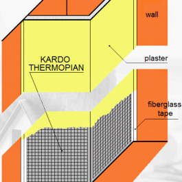KARDO Thermopian 2960 x 200 x 300 mm – kątownik do zabudowy