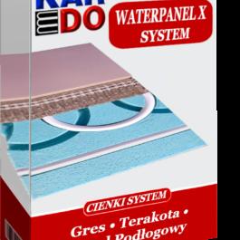 System KARDO Waterpanel X –12 m2– pod gres/ terakotę   W ZESTAWIE TANIEJ